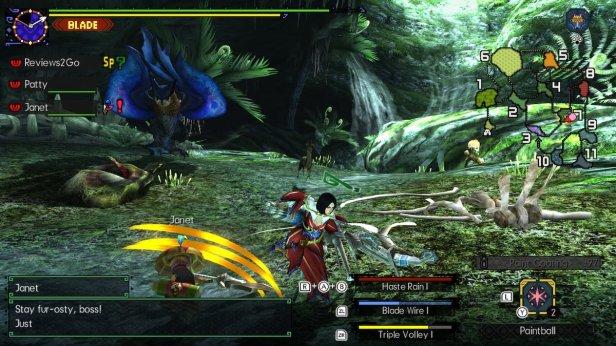 mhgu 4 - gameplay