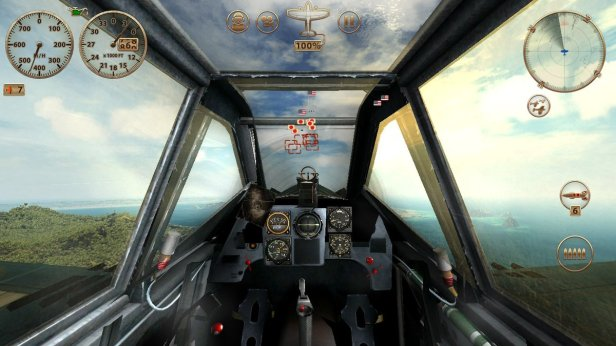 sky 5 - cockpit