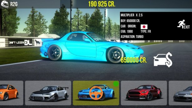 drift 3 - car prices