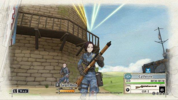 valkyria 3 - gameplay