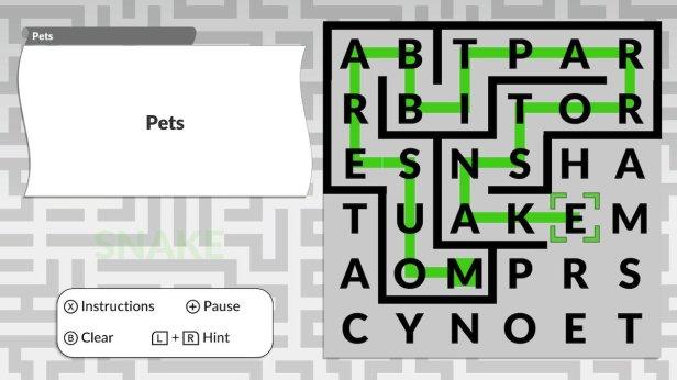 word 4 - maze