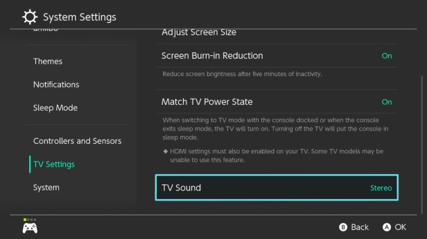 YT 5 - Sound Settings