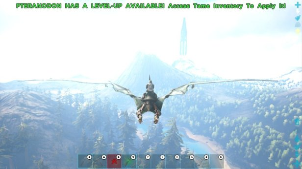ark 6 - flying