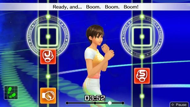 fitness 2 - gameplay rhythm