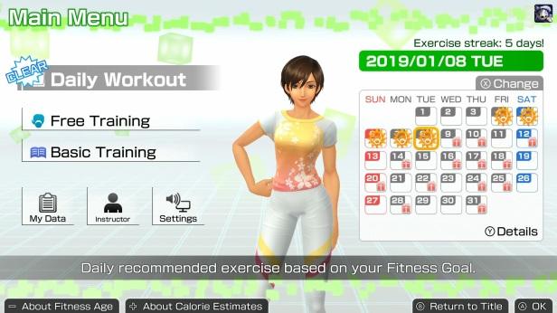 fitness 4 - ui