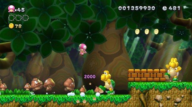 mario 3 - gameplay
