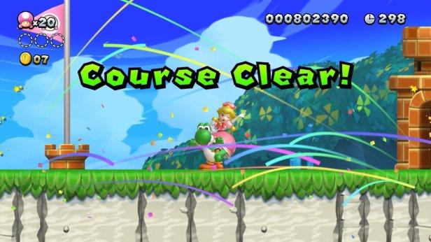 mario 5 - course clear