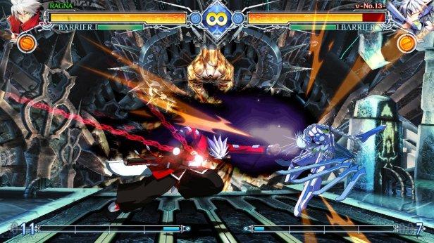 blazblue 3 - gameplay