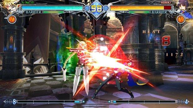 blazblue 5 - combat